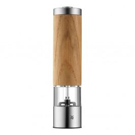 Elektrický mlynček na korenie a soľ z dubového dreva WMF, výška 21,5 cm