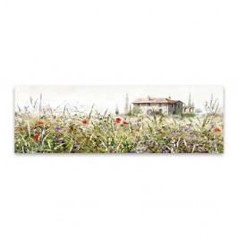 Obraz na plátne Styler Grasses, 140 x 45 cm