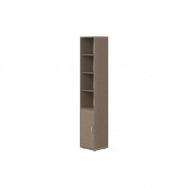 Hnedá detská skrinka z borovicového dreva Flexa Classic, výška 200 cm