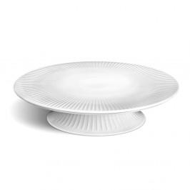 Biely porcelánový podnos na tortu Kähler Design Hammershoi Cake Dish, ⌀ 30 cm