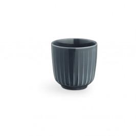 Antracitový porcelánový hrnček na espresso Kähler Design Hammershoi, 1 dl
