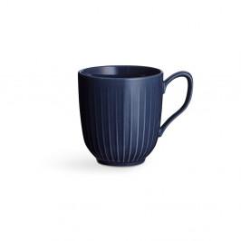 Tmavomodrý porcelánový hrnček Kähler Design Hammershoi, 330 ml