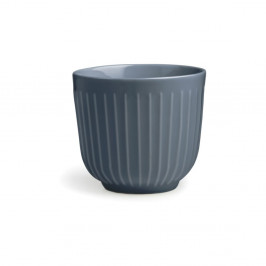 Antracitový porcelánový hrnček Kähler Design Hammershoi, 200 ml