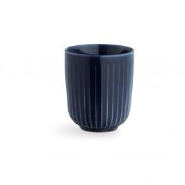 Tmavomodrý porcelánový hrnček Kähler Design Hammershoi, 300 ml