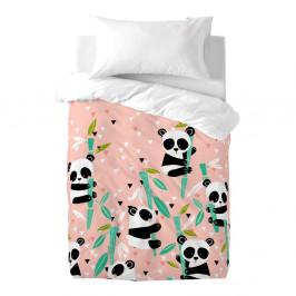 Detské bavlnené obliečky Moshi Moshi Panda Garden, 100×120cm
