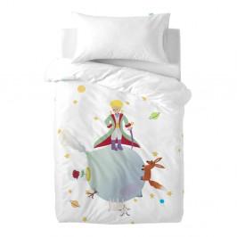 Detské bavlnené obliečky na paplón a vankúš Mr. Fox Le Petit Prince, 100 × 120 cm
