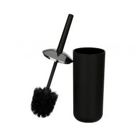 Čierna toaletná kefa Wenko Brasil