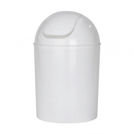 Biely odpadkový kôš Wenko Swing