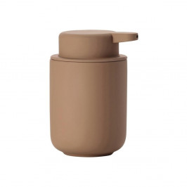 Jantárovohnedý dávkovač tekutého mydla z kameniny Zone Ume Amber, 250 ml