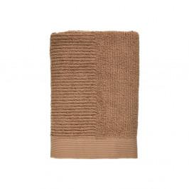 Jantárovohnedá osuška zo 100 % bavlny Zone Classic Amber, 70×140 cm