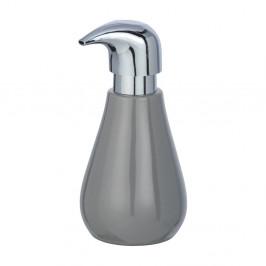 Sivý keramický dávkovač na mydlo Wenko Sydnes