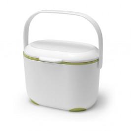 Bielo-zelený kompostér Addis Caddy, 2,5 l