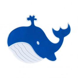 Sada 5 modrých protišmykových nálepiek do vane Wenko Whale