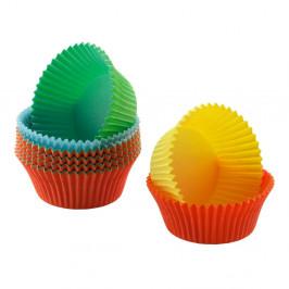 Sada 150 farebných papierových košíčkov na mini muffiny Kaiser