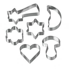 Sada 6 antikoro vykrajovadiel Metaltex Cookie Cutters