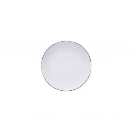 Biely tanier Tokyo Design Studio Nippon Stripe, ø 19 cm