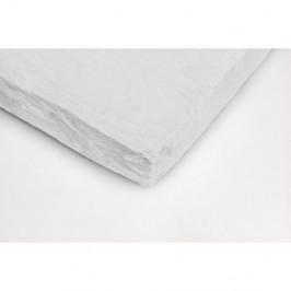 Biela mikroplyšová prikrývka na dvojlôžko My House, 180 × 200 cm