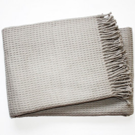 Deka Waffel Light Grey, 140 x 180cm