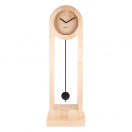 Stojacie drevné hodiny Karlsson Lena, výška 100 cm