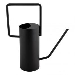 Čierna kovová kanvička PT LIVING Grace, výška29cm