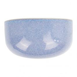Modrý nástenný kvetináč PT LIVING Oval, 20x10,8cm