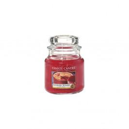 Vonná sviečka Yankee Candle Rebarborový Crumble, doba horenia 65 - 90 hodín