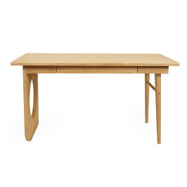 Písací stôl Woodman Bau, šírka 140 cm