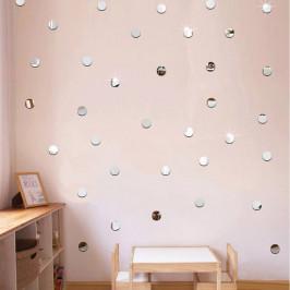 Sada 100 zrkadlových samolepiek Ambiance Dots