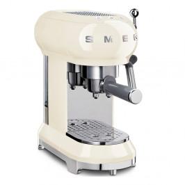Krémovobiely pákový kávovar na Espresso SMEG