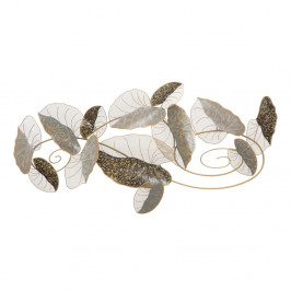 Nástenná kovová dekorácia Mauro Ferretti Lotus, 119 × 63 cm