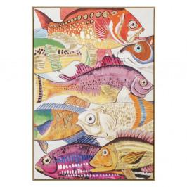 Obraz Kare Design Touched Fish Meeting I., 100 × 75 cm