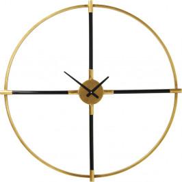 Nástenné hodiny v zlatej farbe Kare Design Magic Wand, ⌀ 91 cm