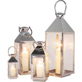 Sada 4 dekoratívnych lampášov Kare Design Giardino