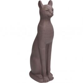 Dekoratívna socha mačky z kameniny Kare Design Cat, 77 cm