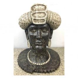 Dekoratívna soška Kare Design African Queen, výška 50 cm