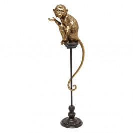 Dekoratívna figurína opice Kare Design Monkey, výška 109 cm