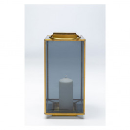 Dekoratívny lampáš Kare Design Lantern Noir, malá