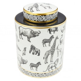 Dekoratívna dóza Kare Design Animals, výška27cm