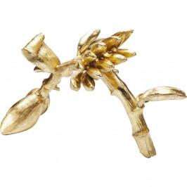 Dekorácie v zlatej farbe Kare Design Banana Tree