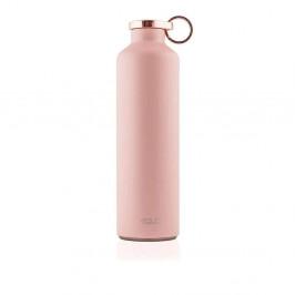 Ružová Termofľaša z nerezovej ocele Equa Basic Pink Blush, 680 ml