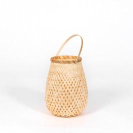 Bambusový lampáš Compactor Bamboo Lantern, ⌀18cm