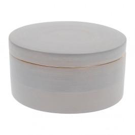 Sivý bambusový úložný box s vekom Compactor Bamboo Box