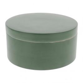 Zelený bambusový úložný box s vekom Compactor Bamboo Box