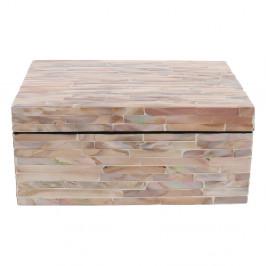 Ružový úložný box Compactor Haiphong Box