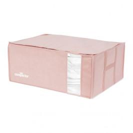 Ružový úložný box na oblečenie Compactor XXL Pink Edition 3D Vacuum Bag, 210 l