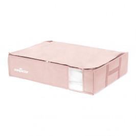 Ružový úložný box na oblečenie pod posteľ Compactor XXL Pink Edition 3D Vacuum Bag, 145 l