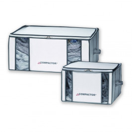 Sada 2 vakuových úložných boxov na oblečenie Compactor Life 3D Vacuum Bag