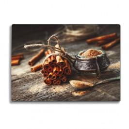 Sklenená doska na krájanie Insigne Cinnamon