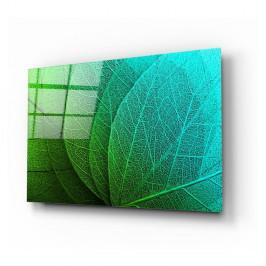 Sklenený obraz Insigne Green Leaf