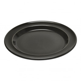 Čierny plytký tanier Emile Henry, ⌀ 28 cm